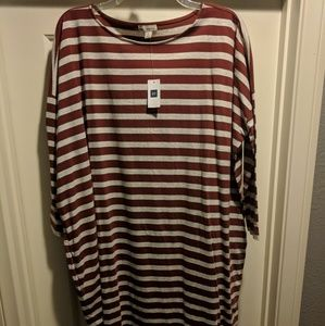 NWT GAP Relaxed T-shirt Dress